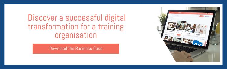 A successful digital transformation for a training organisation