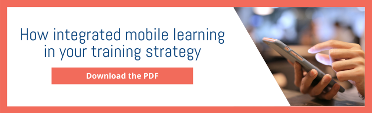 How integrated mobile learning in your training strategy