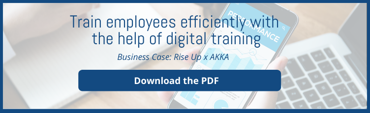 Train employees efficiently with the help of digital training